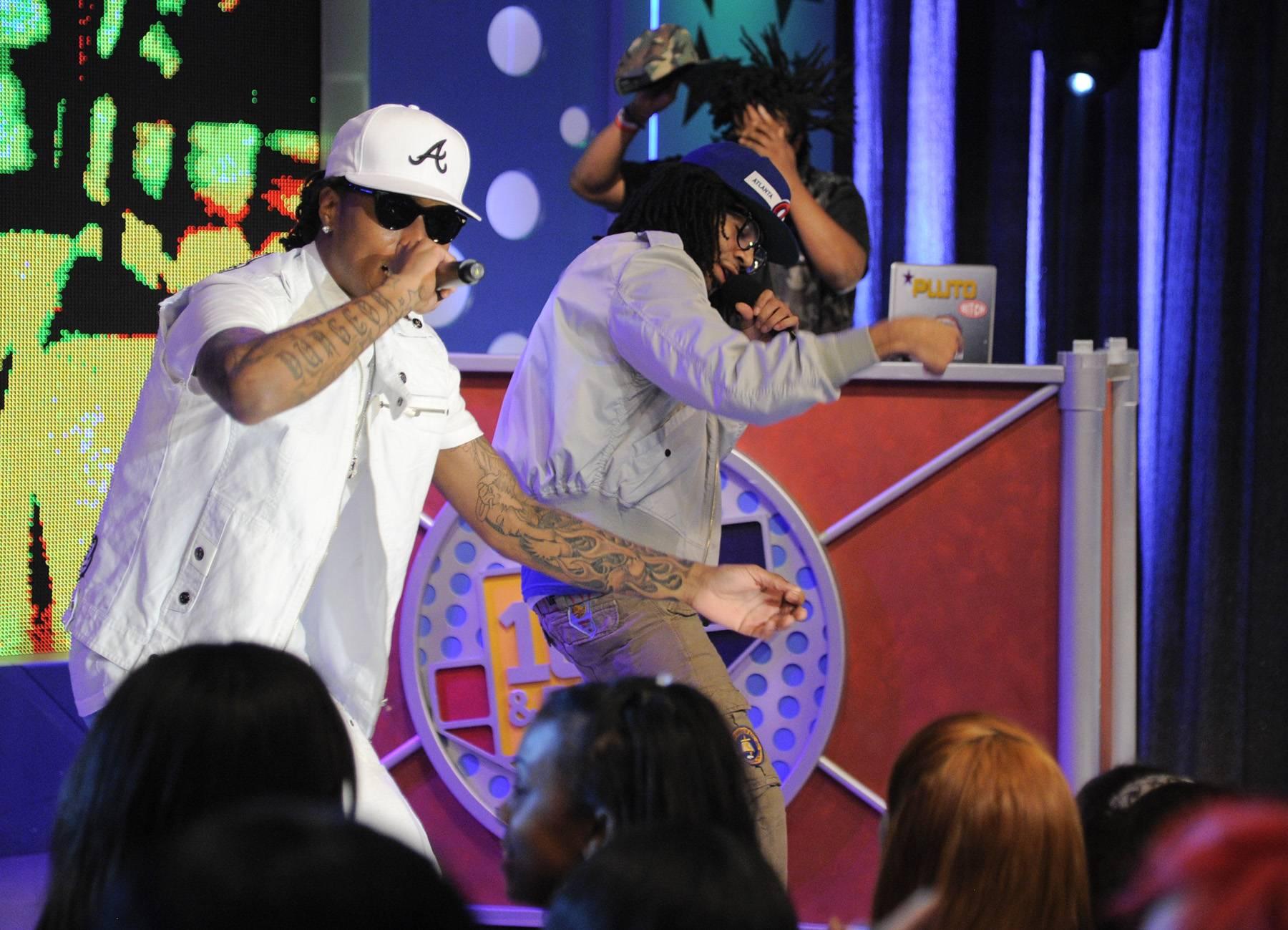 Lets Get It - Future performs at 106 & Park, April 20, 2012. (Photo: John Ricard / BET)