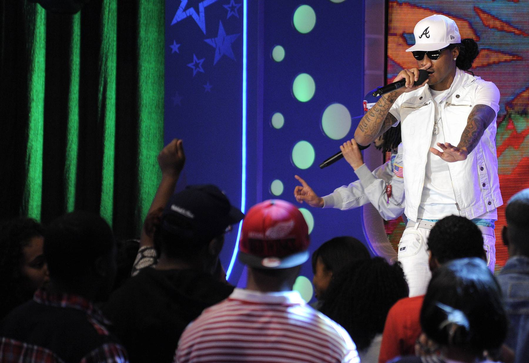 You Can't Stop His Swag - Future performs at 106 & Park, April 20, 2012. (Photo: John Ricard / BET)