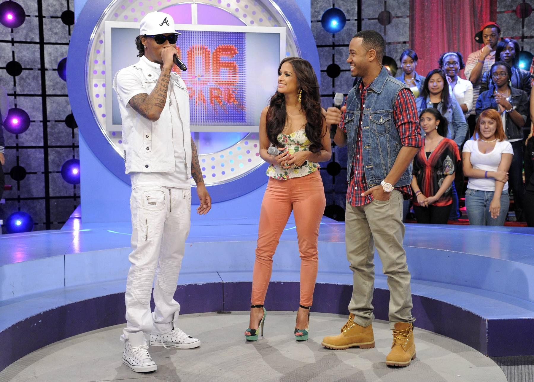 What The Future Holds - Future with Rocsi Diaz and Terrence J at 106 & Park, April 20, 2012. (Photo: John Ricard / BET)