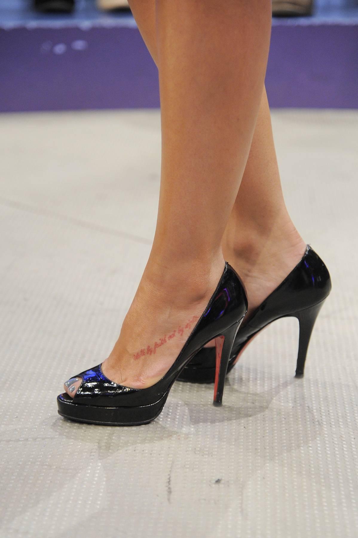 Shoes for Days - Rocsi Diaz at 106 & Park, April 10, 2012.(Photo: John Ricard/BET)