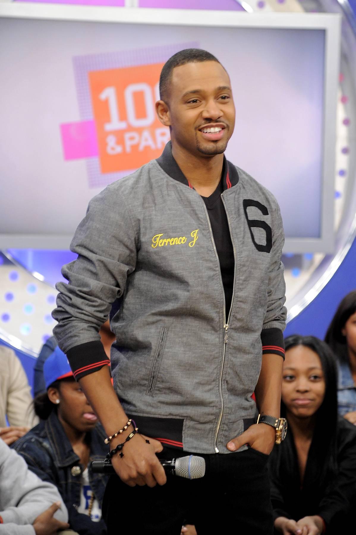 Let's Go - Terrence J at 106 & Park, April 9, 2012. (photo: John Ricard / BET)