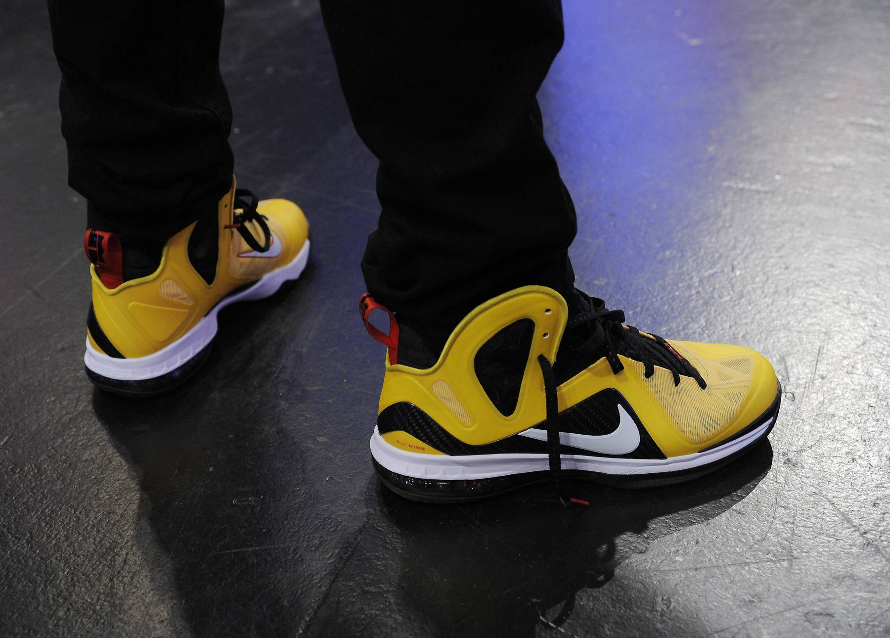 Nice Sneakers - Terrence J at 106 & Park, April 9, 2012. (photo: John Ricard / BET)