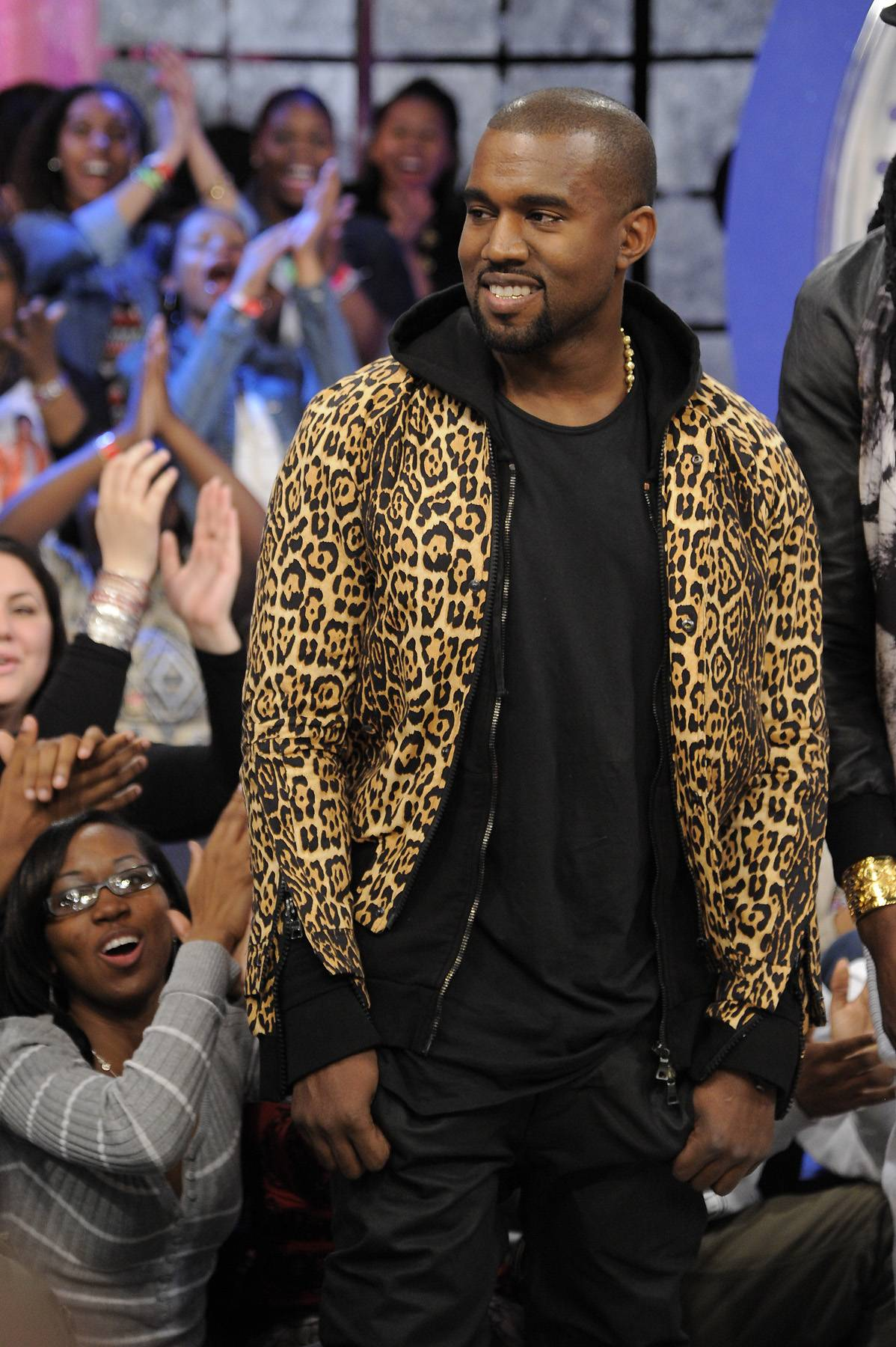 """Kanye West (@kanyewest)  - TWEET: """"I changed the name of the song THERAFLU to WAY TOO COLD and you can buy it now at http://KANYEWEST.COM""""   After complaints from the makers of the over the counter cold medicine Theraflu, West changes the name of his new single.(Photo: John Ricard/BET)"""