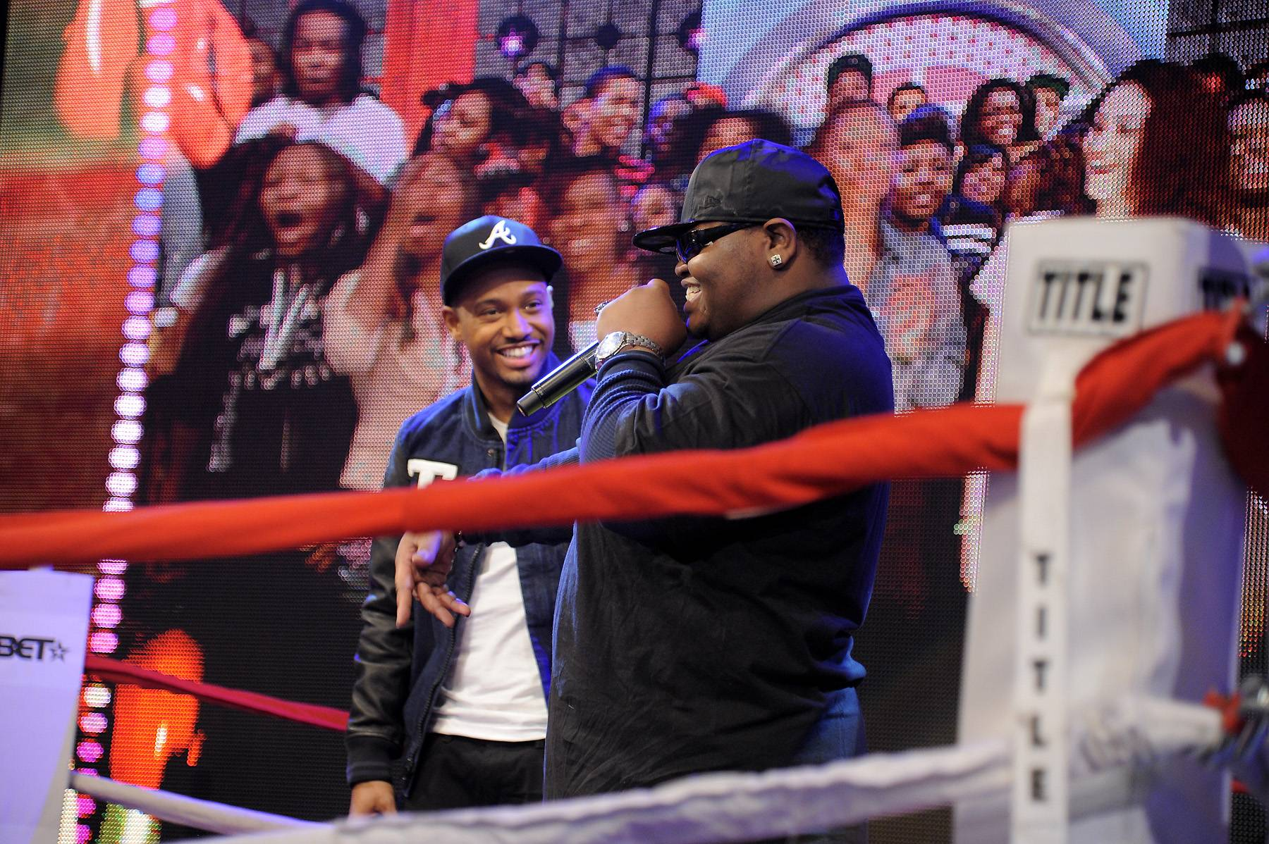 YAGA - Freestyle Friday contestants Syahboy and Relly at 106 & Park, April 6, 2012. (photo: John Ricard / BET)