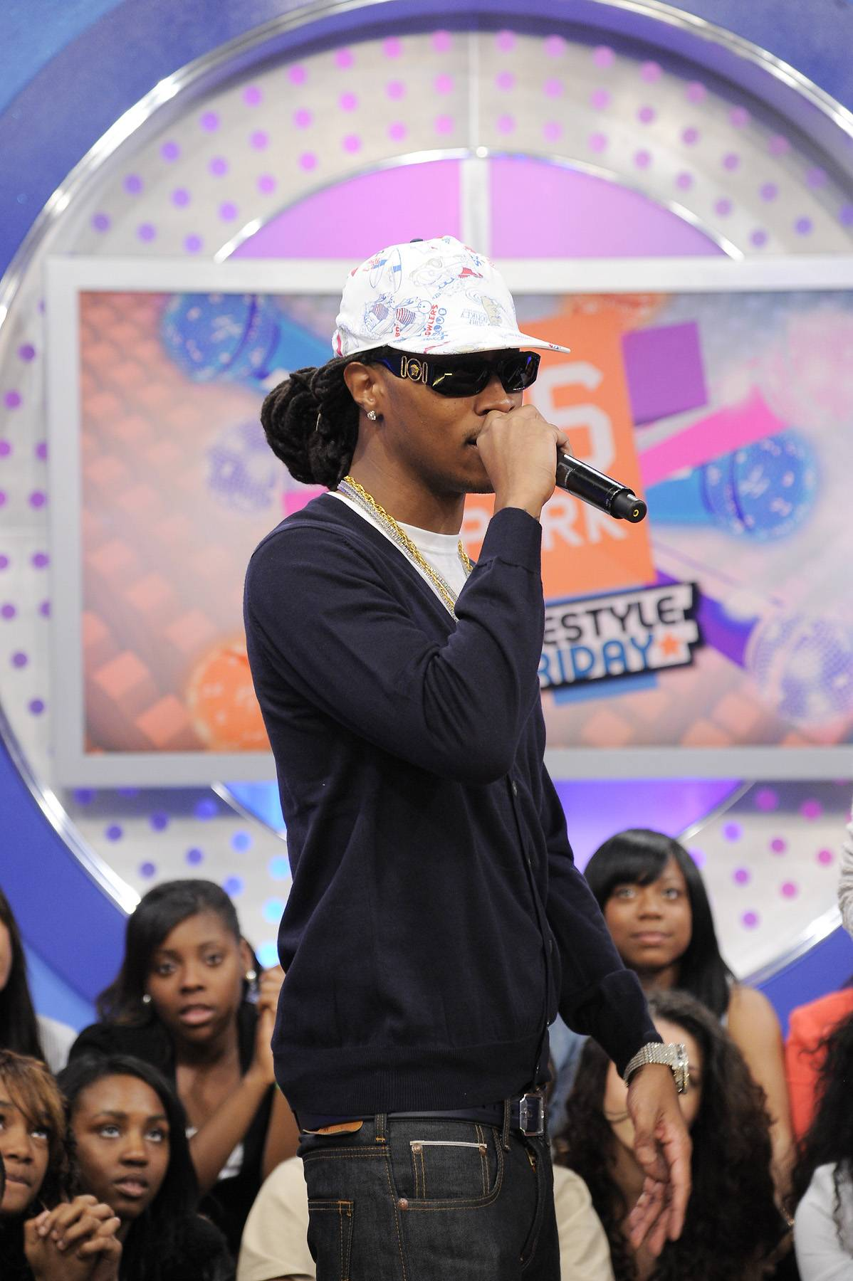 What Does the Future Hold for Future? - Future at 106 & Park, April 6, 2012. (photo: John Ricard / BET)