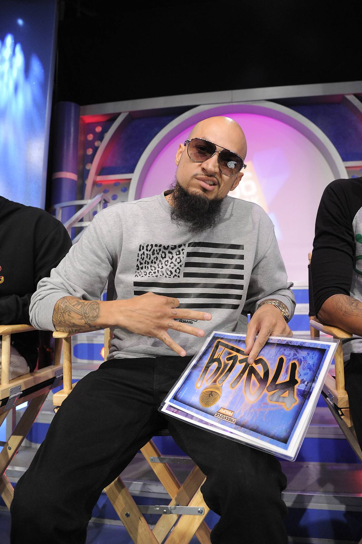 Cool and Dre - Freestyle Friday judges Cool and Dre at 106 & Park, April 6, 2012. (photo: John Ricard / BET)