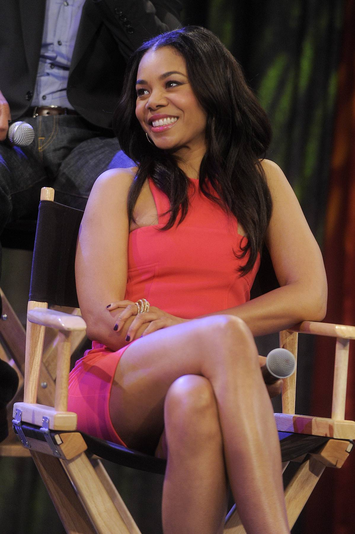 Second Generation Wayans - Today, Regina Hall plays a fictionalized version of herself on Second Generation Wayans as the love interest of her Malibu's Most Wanted co-star Damien Dante Wayans.(Photo: John Ricard / BET)