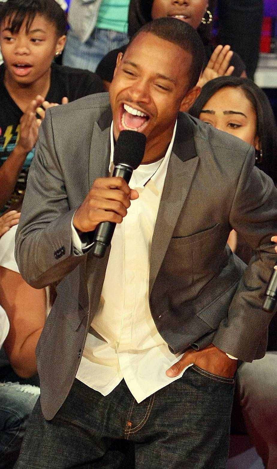 Son of Thunder and Lightning - Terrence J is a proud member of Omega Psi Phi Fraternity, Inc.  (Photo: Andrew H. Walker/Getty Images)