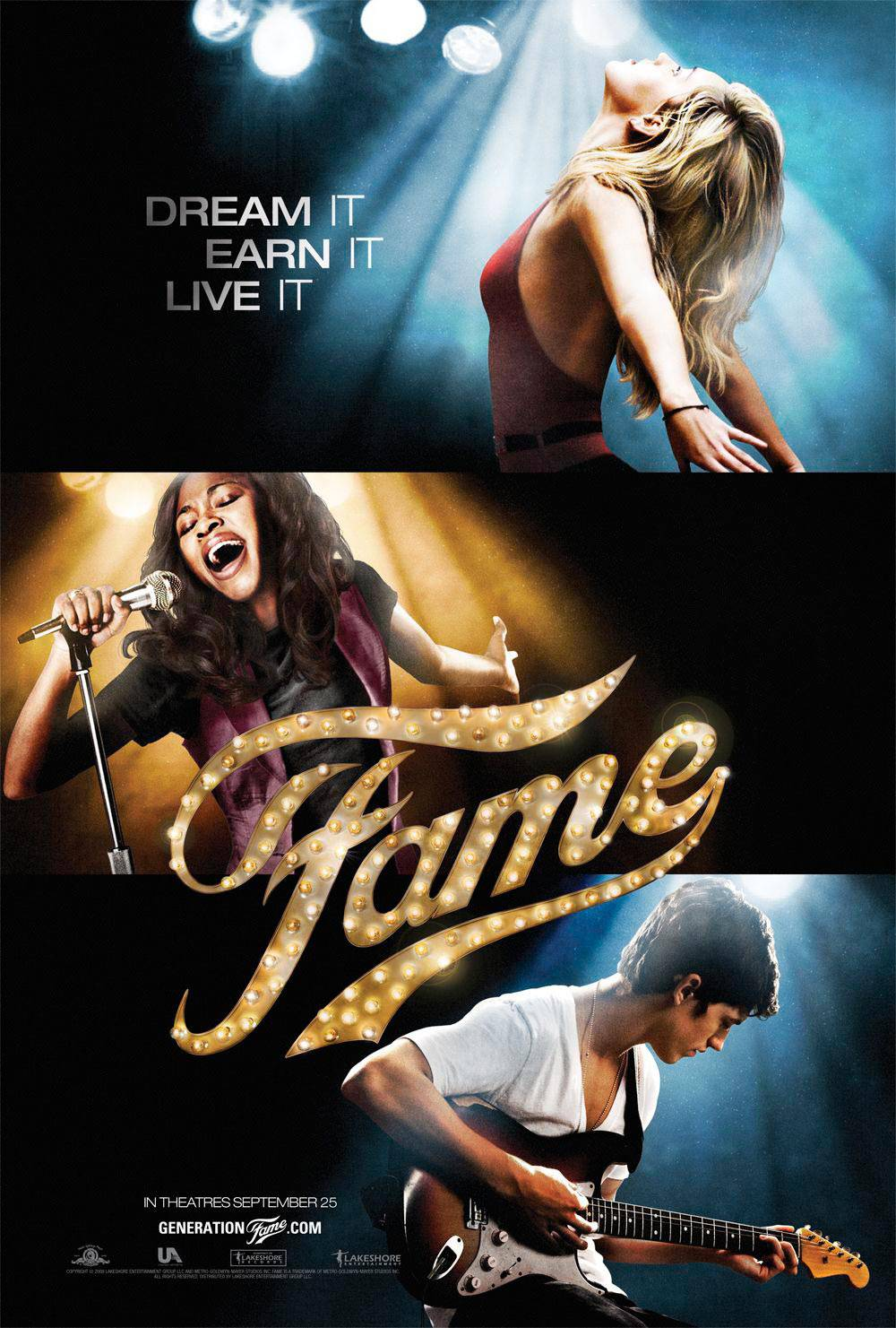 """Fame - Fame spawned a TV series, a reality talent show and a remake. Guess the classic line, """"Fame! I'm gonna live forever,"""" is true!(Photo: MGM)"""
