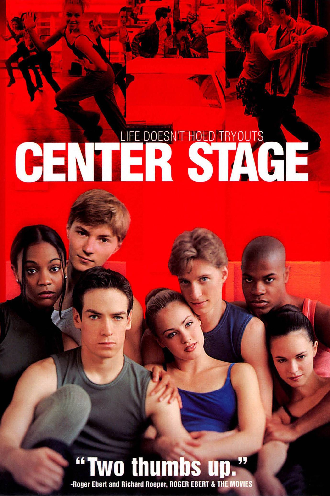 Center Stage - One of Zoe Saldana's first movies was Center Stage... need we say more?(Photo: Columbia Pictures)