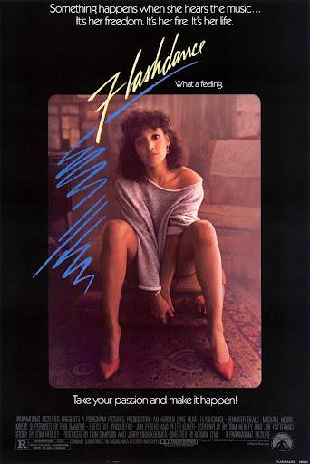"""Flashdance - Flashdance was so important to dancers that J. Lo paid homage to the most famous scene in the movie in her music video """"I'm Glad"""" a few years back and killed it.(Photo: Paramount Pictures)"""