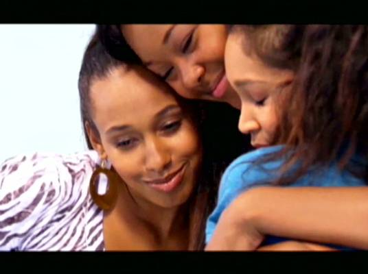 Hugs and Love - The ladies share a hug after spending the day uplifting the young girls.