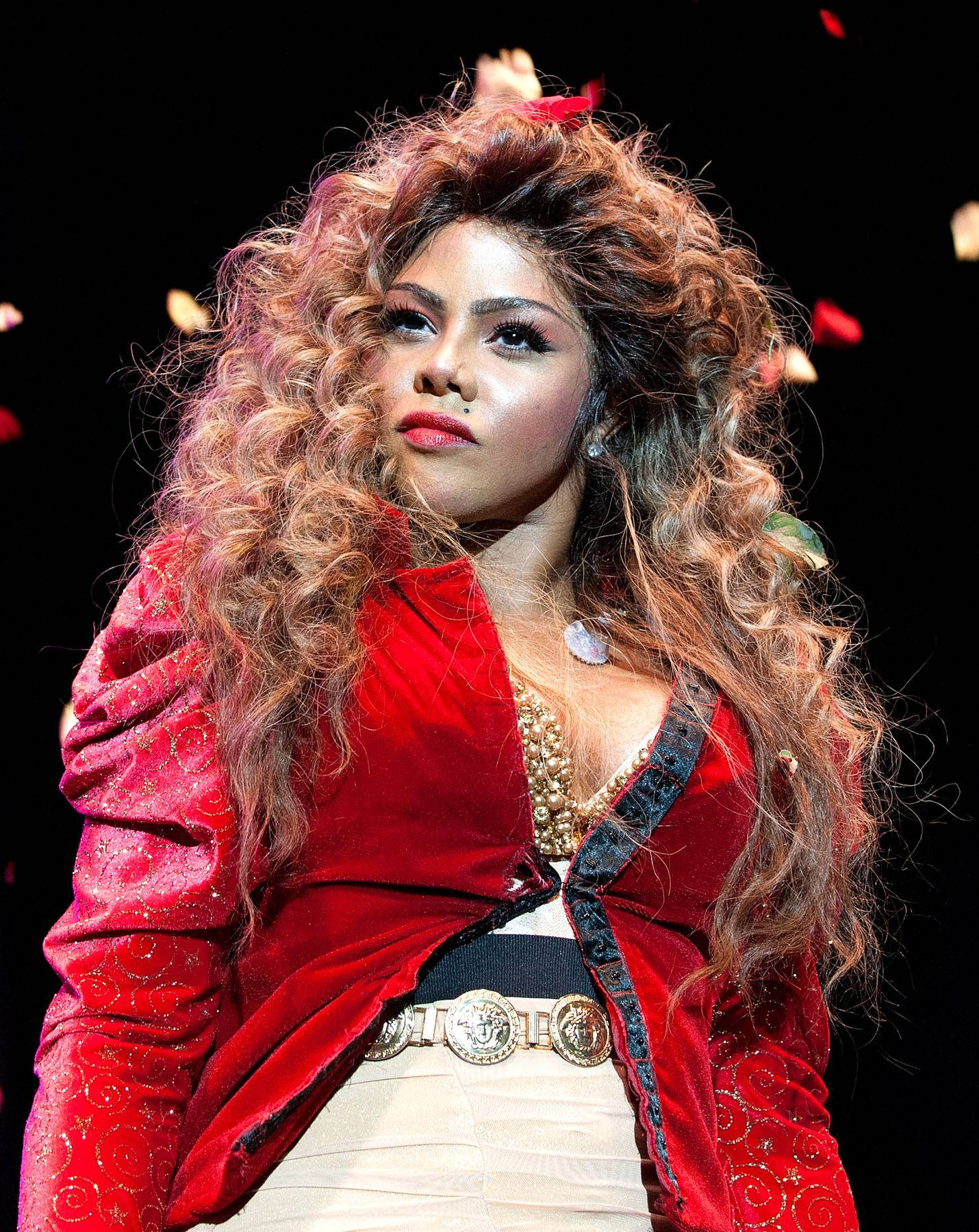 """Lil Kim (@LilKim) - TWEET: """"For those of u who have been brainwashed by the fraud ...Let's open our eyes now people ...the clone is not bringing ladies out for the luv.""""   Lil Kim tweets subliminally about Nicki Minaj ahead of the """"Starships"""" singer's expected appearance at the Hot 97 Summer Jam 2012 concert.(Photo: D Dipasupil/FilmMagic)"""