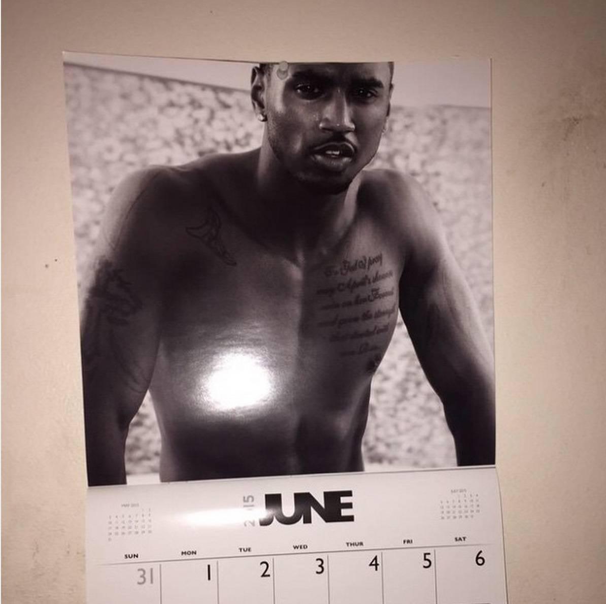 A Calendar? - Say it isn't so!(Photo: Trey Songz via Instagram)