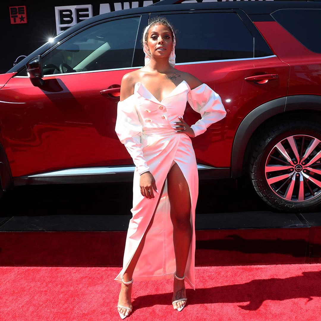 BET Awards 2021   Red Carpet Flipbook Eva Marcille   1080x1080