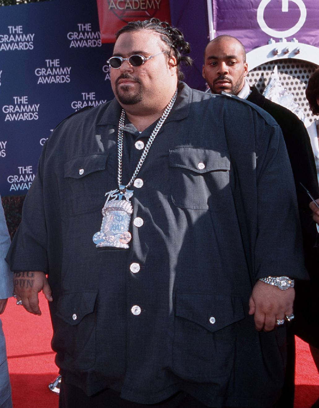 Big Pun - The late, legendary Big Pun debuted on a B-side to a Fat Joe single as a member of his Terror Squad before his own debut, Capital Punishment, established him as one of the nicest in the game.  (Photo: Frank Micelotta/ImageDirect.)