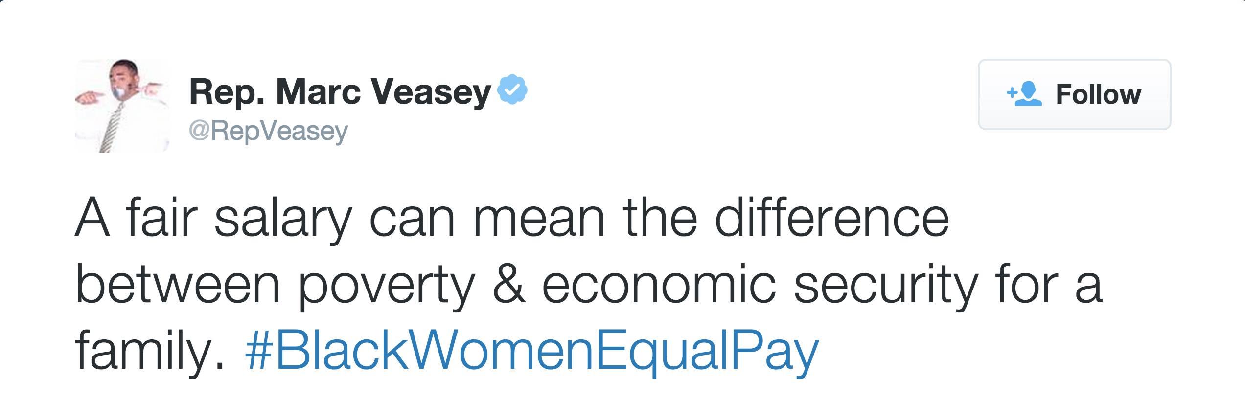 @RepVeasey - (Photo: Representative Marc Veasey via Twitter)