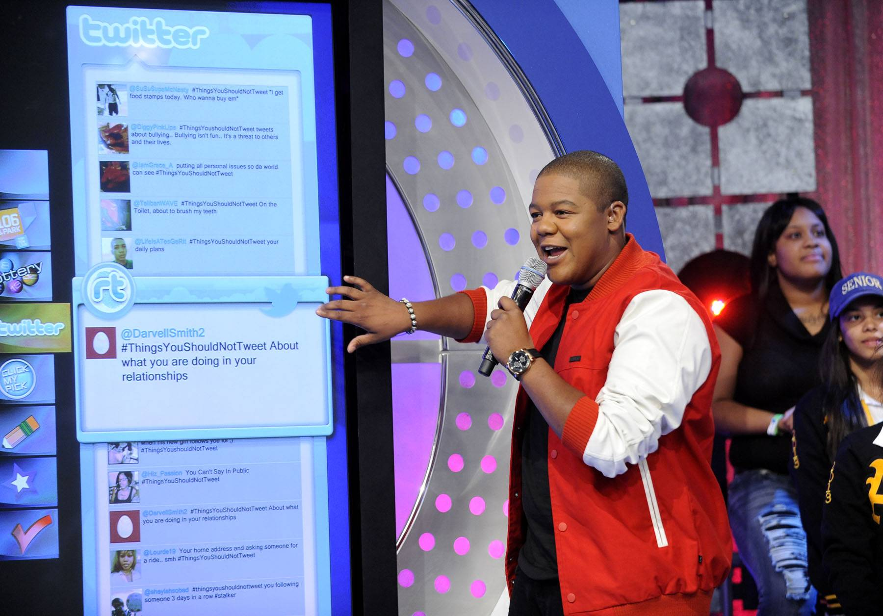 BET Fam - He was once a guest correspondent for 106 & Park, which means he is part of the BET family. (photo: John Ricard / BET)