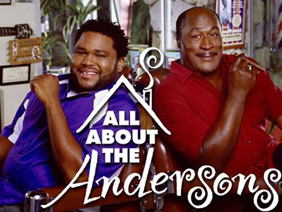All About the Andersons - Yup! Anthony Anderson had his very own family sitcom, All About the Andersons. Unfortunately, the show was cancelled after just one season, but best believe it was classic!  (Photo: WB)
