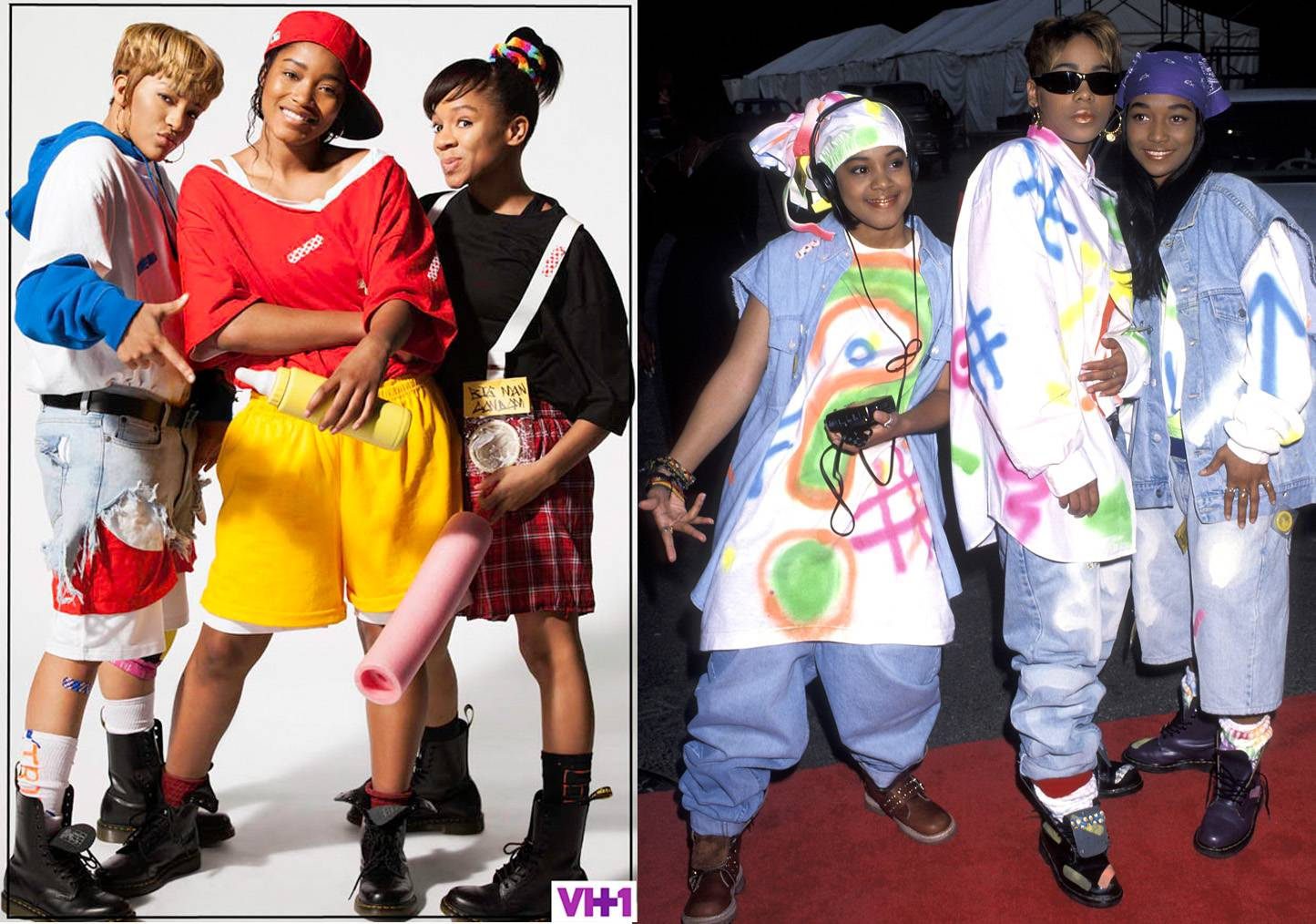 Crazy Sexy Cool: The TLC Story - T-Boz, Chilli and Left-Eye's surviving the music industry tales were documented in this VH1 movie.Drew Sidora, KeKe Palmer and Lil' Mamareceived rave reviews as the dynamic trio and the premiere brought in a history-making 4.5 million-plus viewers.(Photos from left: VH1, Ron Galella/WireImage)