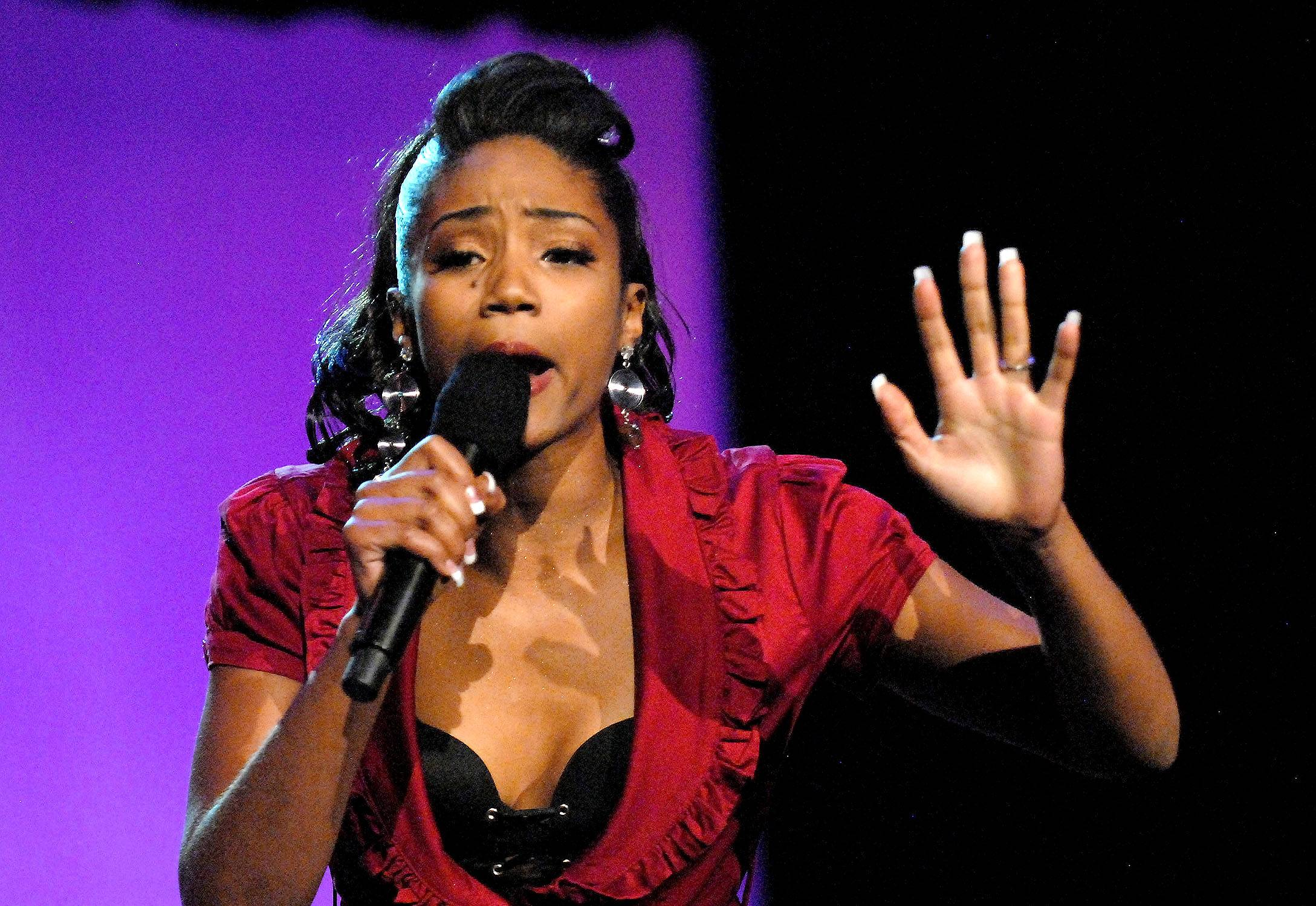 Most Def - One of Tiffany's first major looks was on Russell Simmons' Def Comedy Jam in 2008. Though she had a few stints on other programs prior, this was one of her first commercial stand-up performances and it helped push her career in a different direction. (Photo: Jeff Kravitz/FilmMagic)