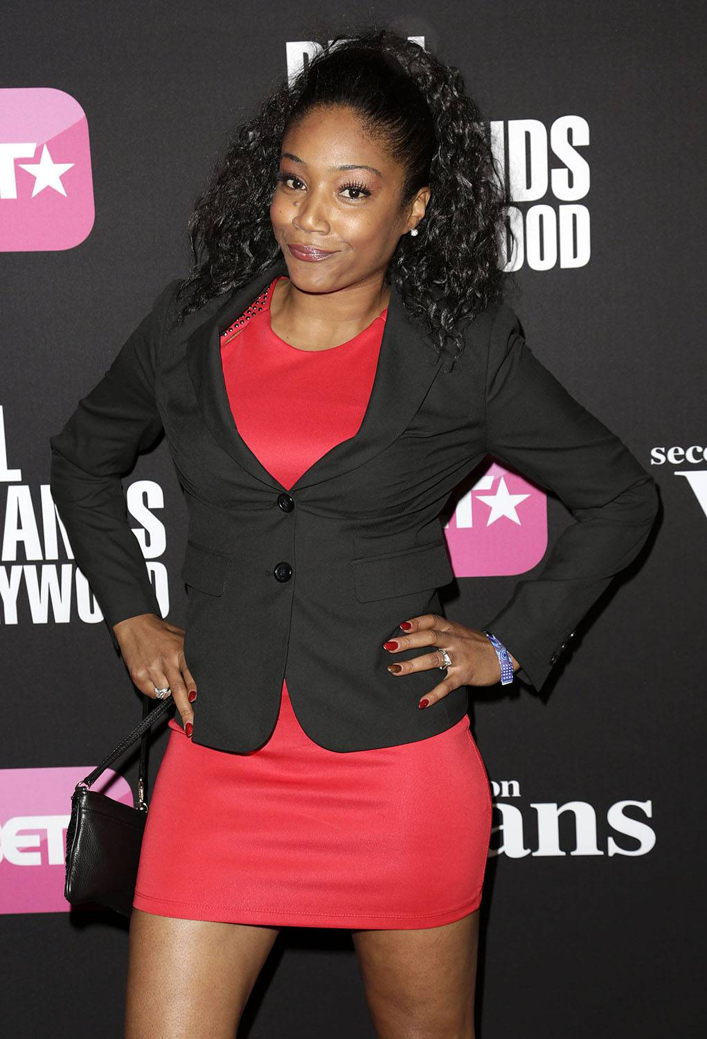 Familiar Face? - If you have a feeling that you've seen Tiffany on BET before, it's likely that you have. She plays the characterTiffany (surprise!) on Real Husbands of Hollywood. (Photo: Brian To/WENN.com)