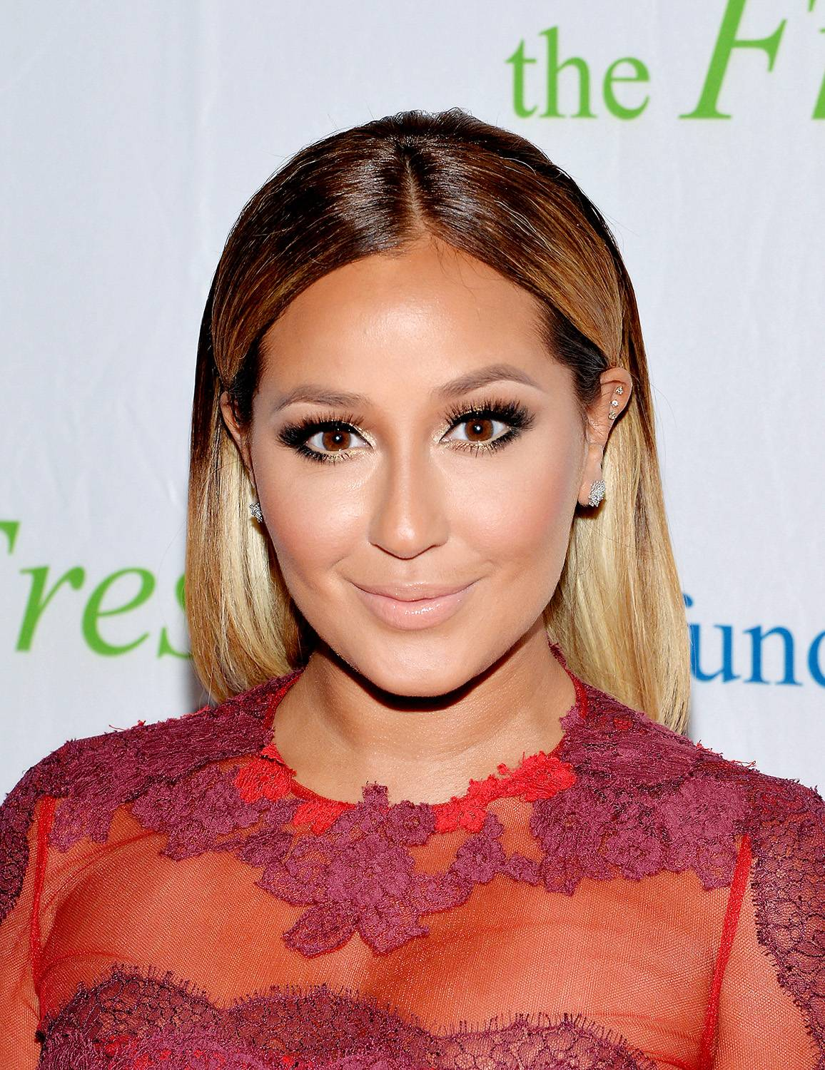Nail'd It!   - When it comes to nailing it, this NYC Latina's got what it takes! Singer, songwriter, dancer, actress and now talk show host Adrienne Bailon admits she's all about adorning her nails and her hands and is even scheduled to host a nail art competition on Oxygen this fall!(Photo: Mike Coppola/Getty Images)