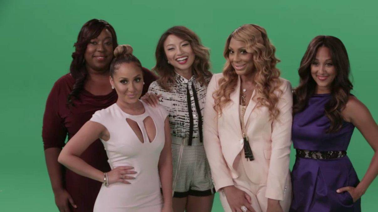 As Real as They Come - Meet Tamar Braxton, Tamera Mowry-Housley, Loni Love, Jeannie Mai and Adrienne Bailon, the ladies of The Real.(Photo: BET)