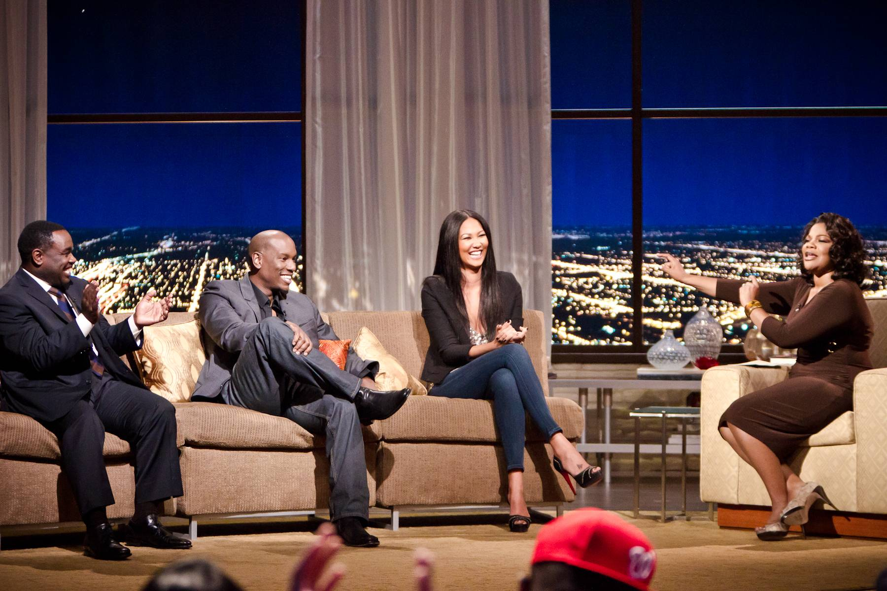 Reporting From the Fab Lane - Kimora Lee Simmons jumps into the Penthouse to discuss her latest ventures.(Photo: Darnell Williams/BET)