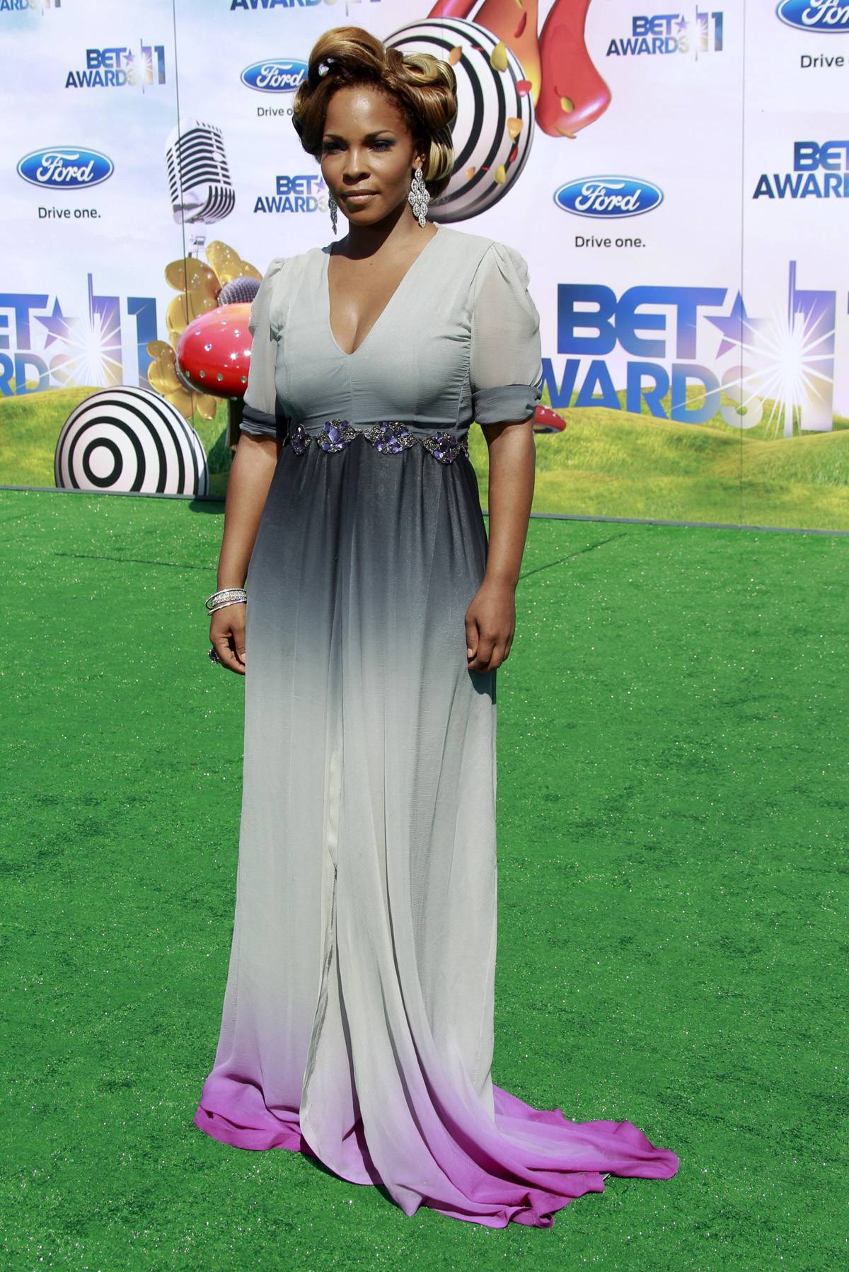 Trending Topic - Free generated quite the Internet buzz following the 2011 BET Awards thanks to her knockout dress on the red carpet. Matter of fact, she's still got Twitter going nuts! Catch her this season as the host of Lens on Talent Season 3.(Photo by PictureGroup)