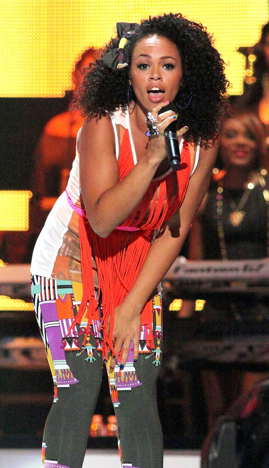 """Elle Varner - Cali girl Elle Varner released her debut single, """"Only Wanna Give it to You,"""" featuring J. Cole, this past August. Since its release, the BET Music Matters artist has gotten enough buzz to stir up anticipation for her upcoming album, Perfectly Imperfect.(Photo: John W. Ferguson/Getty Images)"""