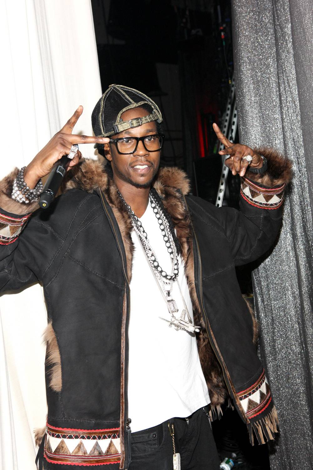 """Recording artist 2 Chainz visits BET's """"106 & Party"""" at BET Studios on December 16, 2011 in New York City. (Photo: Bennett Raglin/Getty Images)"""