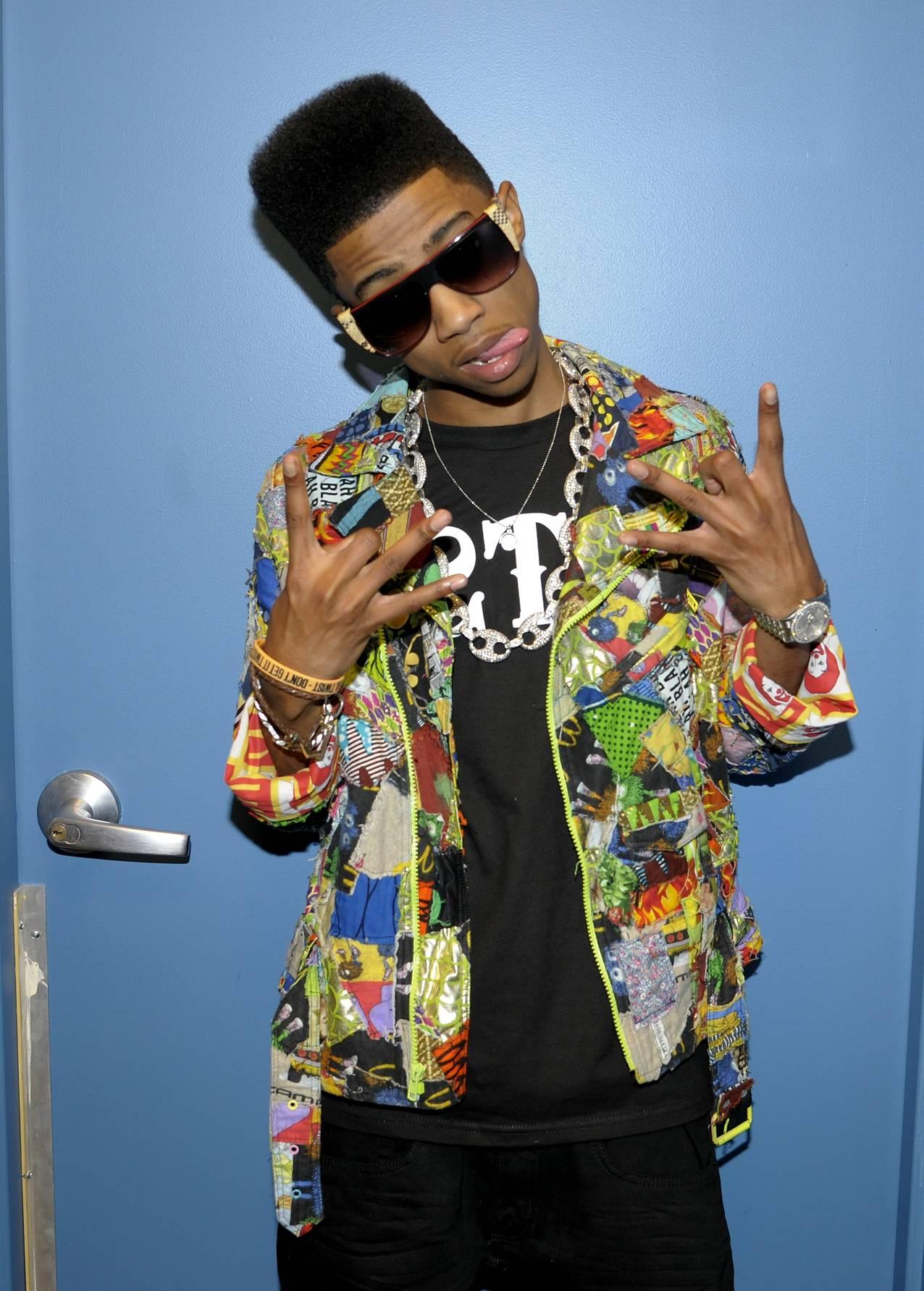 Swag - Lil Twist backstage at 106 & Park, January 05, 2012. (Photo: John Ricard/BET)