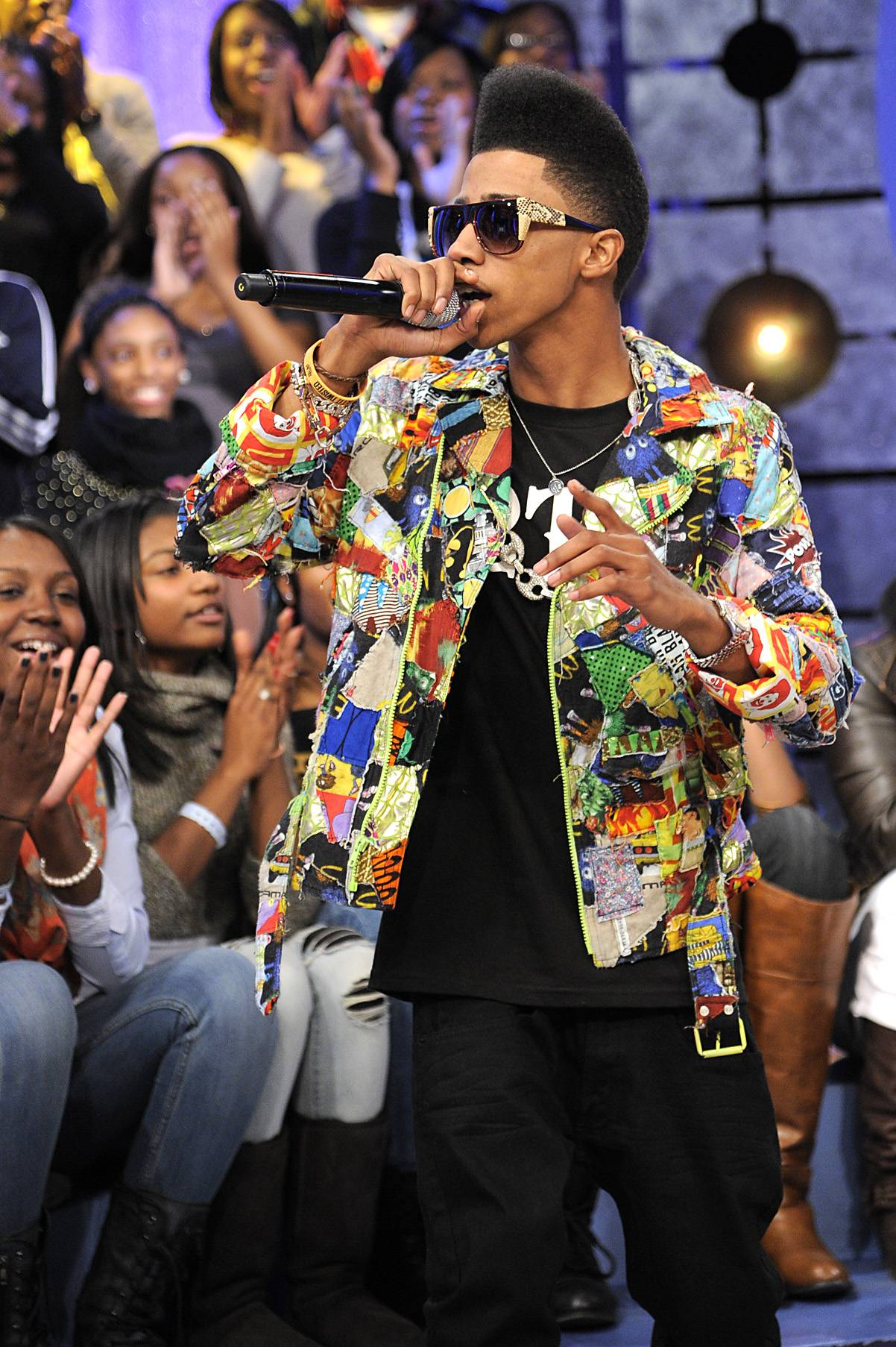 Shout Out - Lil Twist at 106 & Park, January 05, 2012.(Photo: John Ricard/BET)