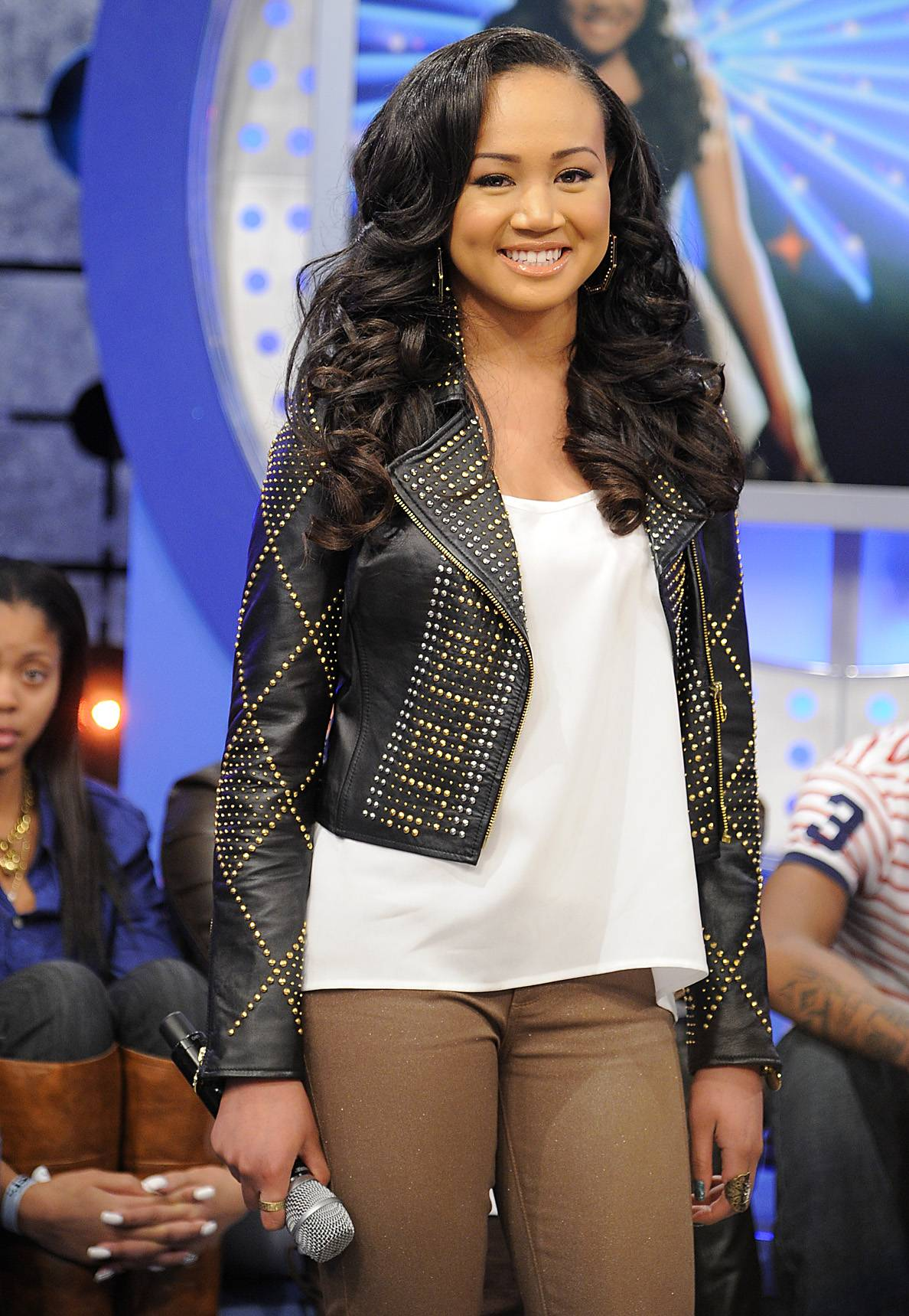 Check Me Out - Cymphonique at 106 & Park, January 05, 2012.(Photo: John Ricard/BET)