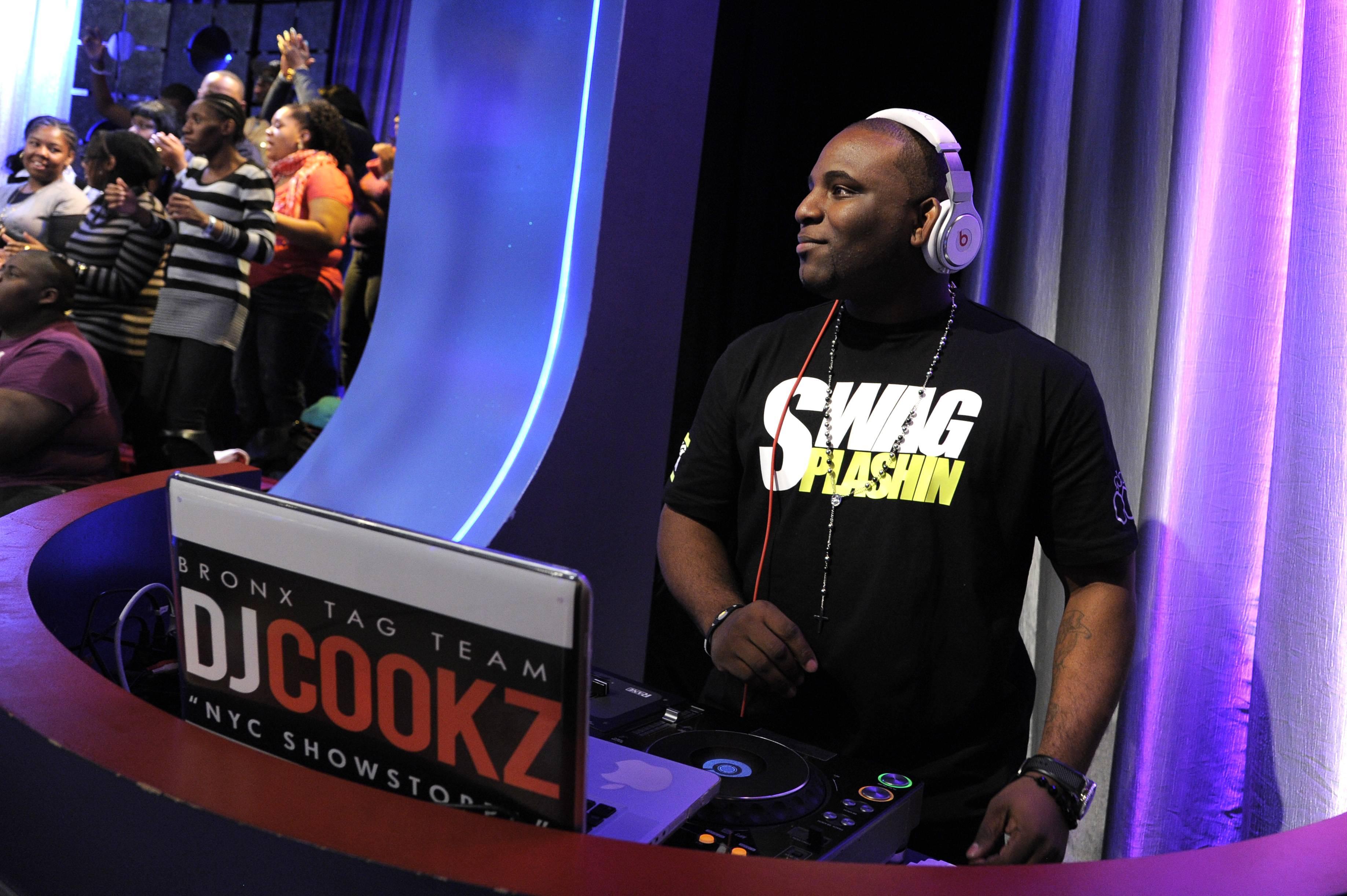 Enter the DJ - DJ Cookz at 106 & Park, January 05, 2012.(Photo: John Ricard/BET)