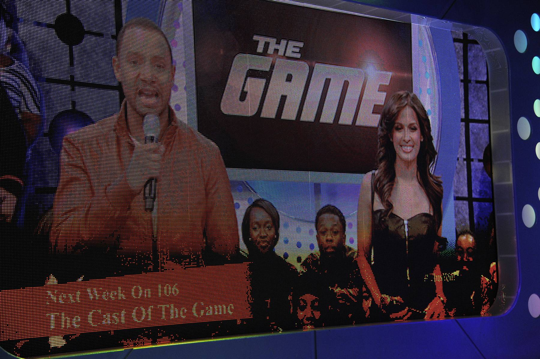 Bring on the Game - Terrence J and Rocsi Diaz announce that the cast of The Game will be on set next week at 106 & Park, January 3, 2012. (Photo: John Ricard / BET)
