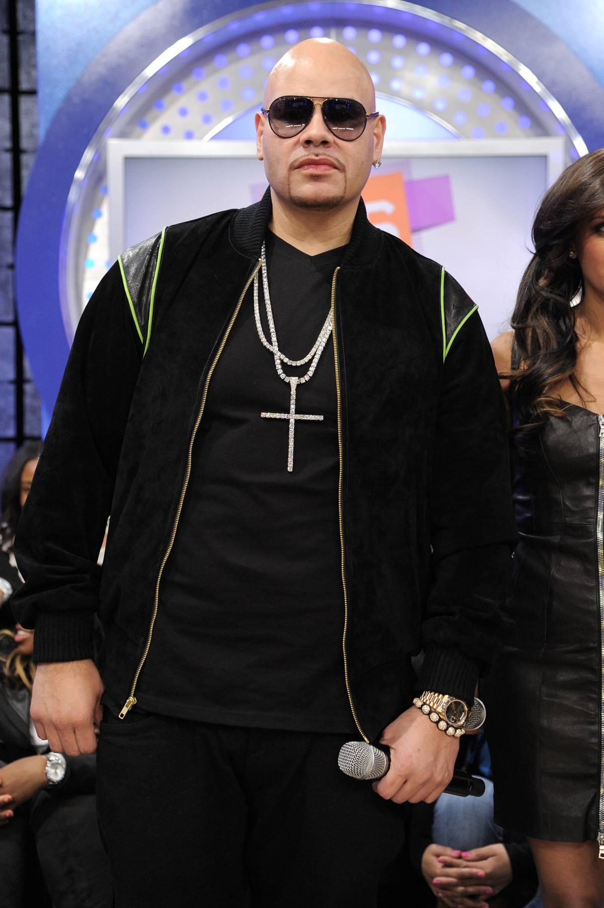 Lean Back - Fat Joe at 106 & Park, January 3, 2012. (Photo: John Ricard / BET)
