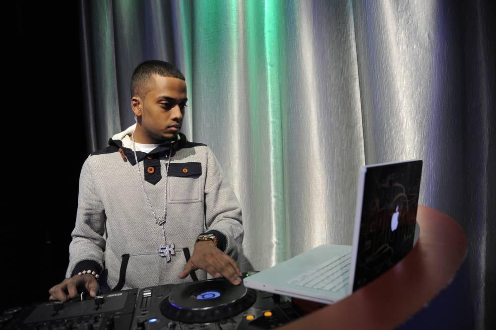 Spin It - DJ Spin King at 106 & Park, January 3, 2012. (Photo: John Ricard /BET)