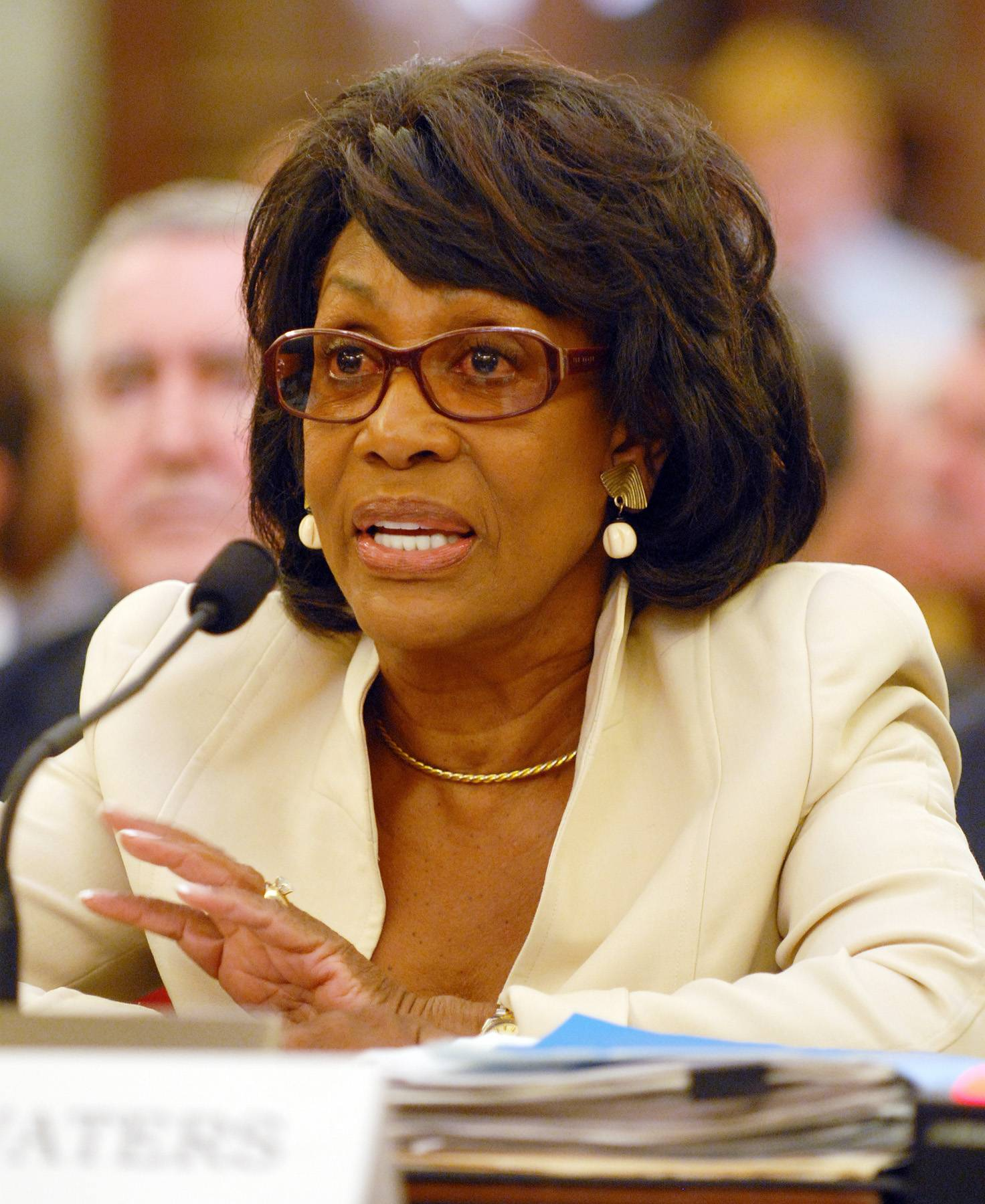 Maxine Waters - California Rep. Maxine Waters has a well earned reputation for not suffering fools or Republicans lightly. Now that she's the House Financial Services Committee's top Democrat, Wall Street beware. (Photo: UPI Photo/Roger L. Wollenberg /Landov)