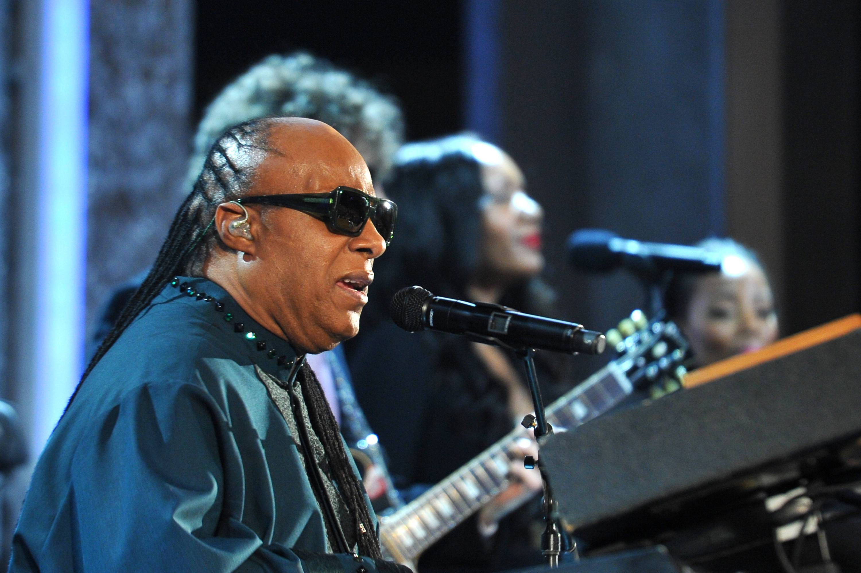 Stevie Wonder is Expecting Triplets - According to reports, Stevie Wonder is expecting triplets with his twenty-something girlfriend. We guess it's never too late to get it in.