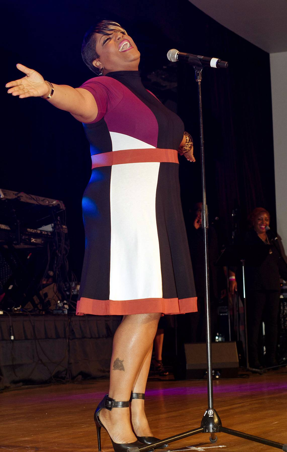 Anita Wilson - Grammy-nominated Anita Wilson's summer release of sophomore album Vintage Worship continues to blend praise and worship with contemporary pop-gospel energy. Her new music shows a fresh, unpredictable and genuine connection to gospel.(Photo: Johnny Nunez/WireImage)
