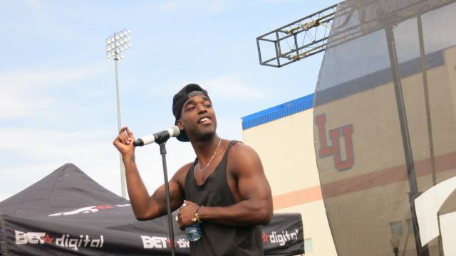 Luke James Gets the Good Vibes Going - (Photo: BET)
