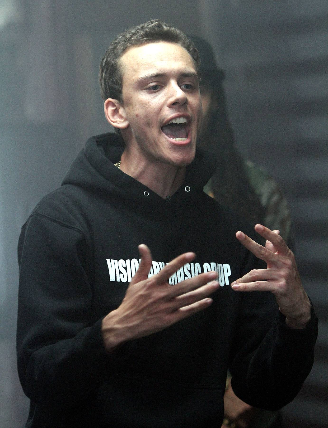 Logic - Logic's time is now and he proves why from the top to the bottom of his 2014 cypher freestyle. (Photo: Maury Phillips/WireImage)