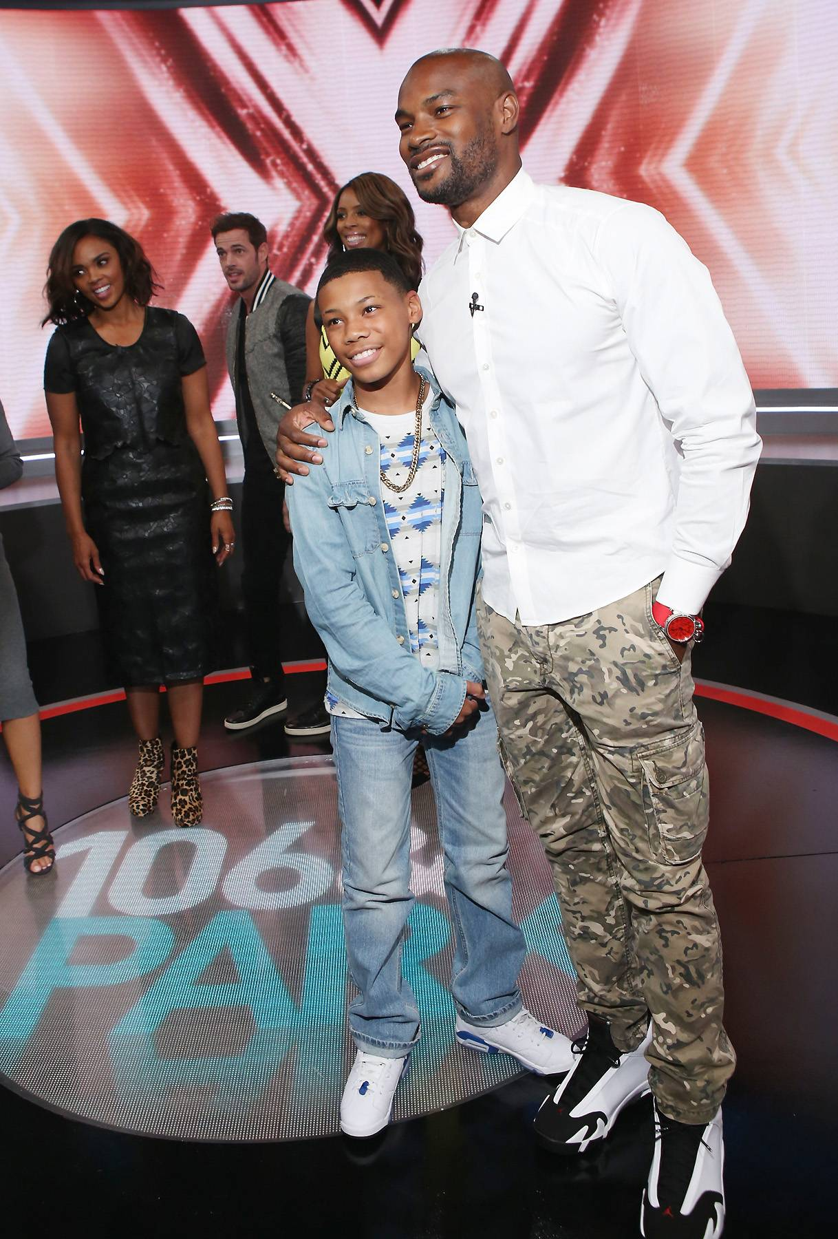 Tyson With Fans - (Photo: Bennett Raglin/BET/Getty Images for BET)