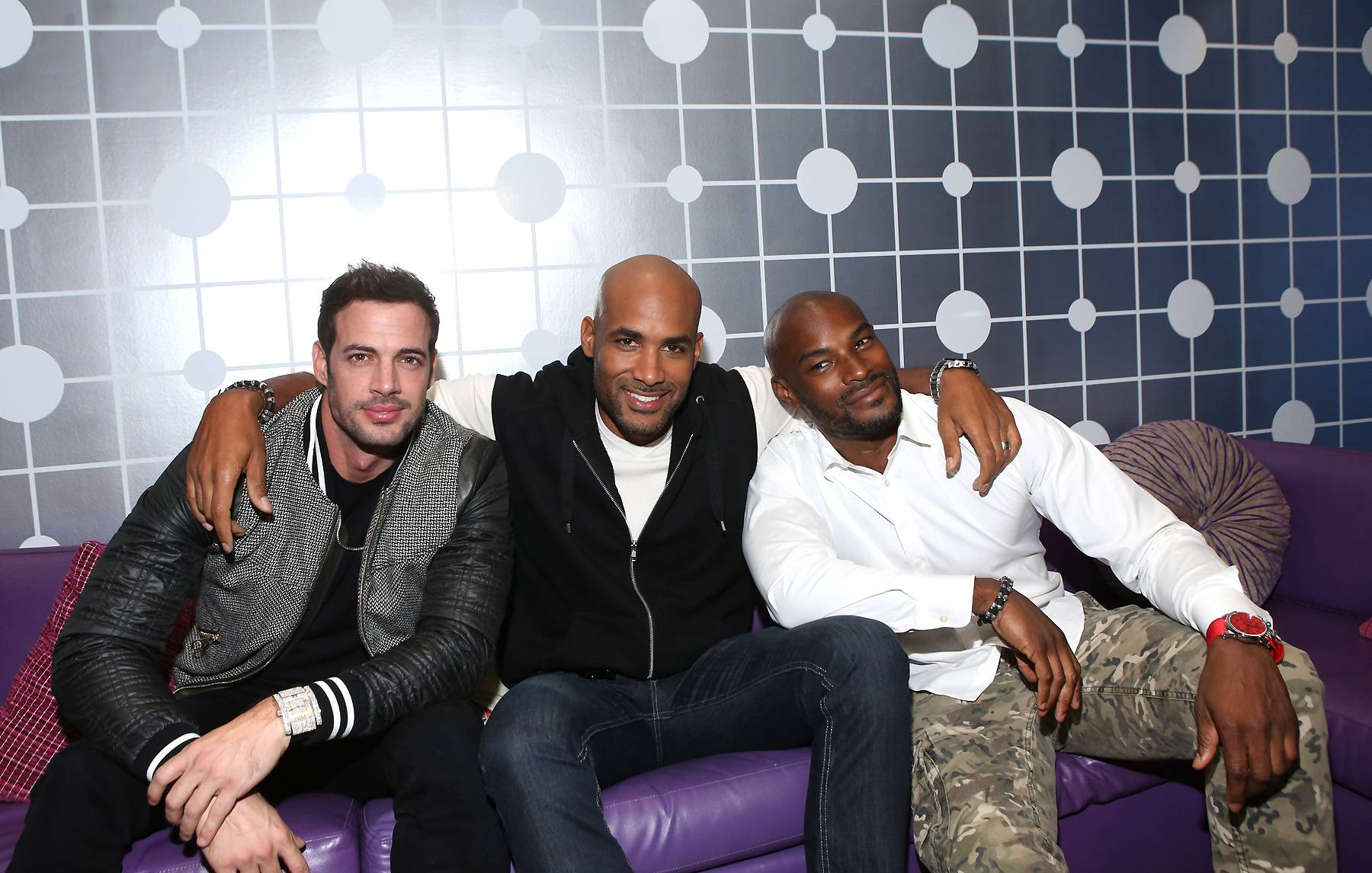 The Men of 'Addicted' - (Photo: Bennett Raglin/BET/Getty Images for BET)