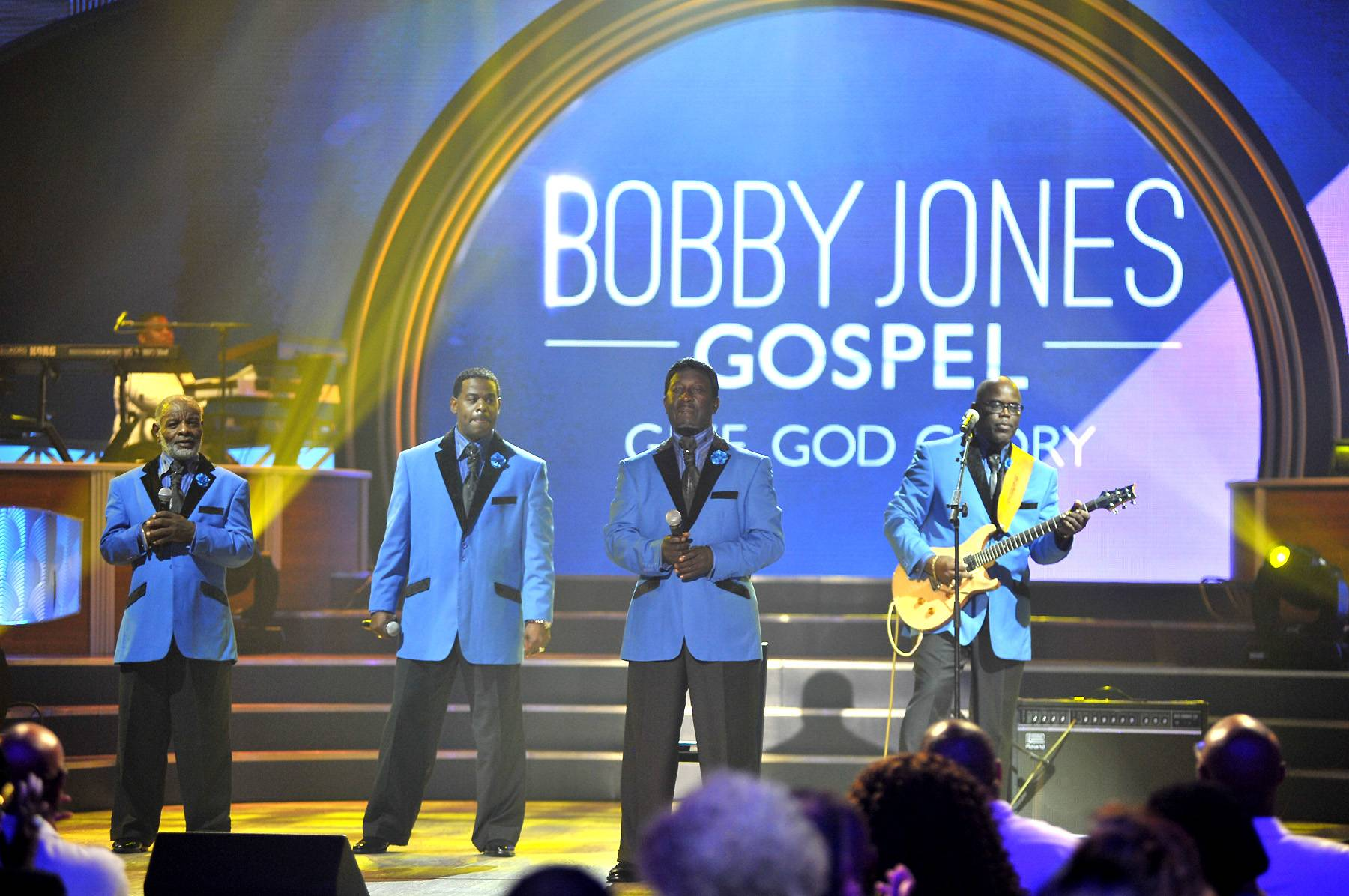 Doc McKenzie and the Hi-Lites Performance - Doc McKenzie and the Hi-Lites give the people an old-school performance during the taping of BET's Bobby Jones Gospel at BET Studios on August 1, 2014, in Washington, D.C.(Photo: Kris Connor/Getty Images for BET Networks)