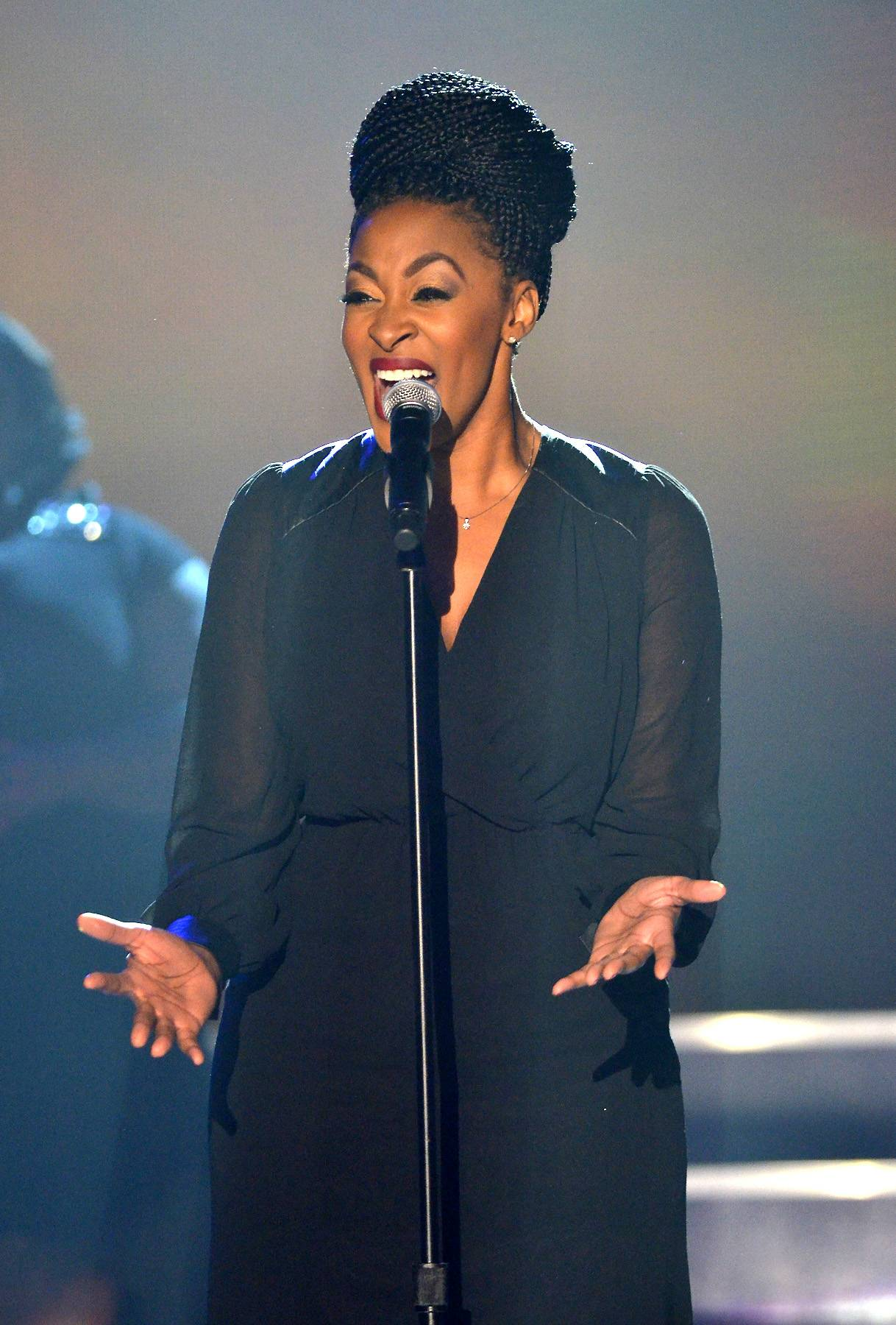 The Gospel According to Bobby Jones - Jessica Reedy performed back in 2014 during a taping of BET's Bobby Jones Gospel.(Photo: Kris Connor/Getty Images for BET Networks)