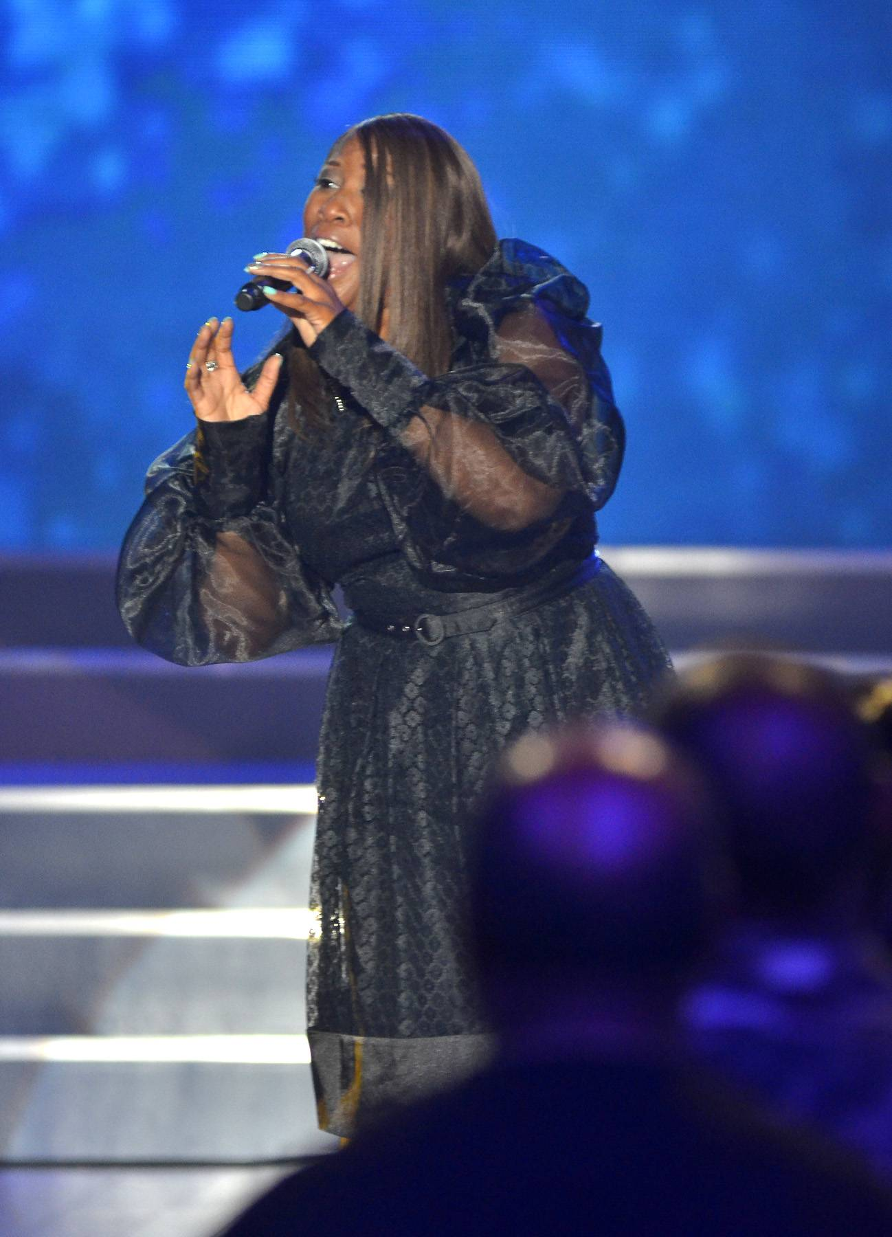Nancy Jackson Johnson Performance - Nancy Jackson Johnson comes back after 14 years to perform during the taping of BET's Bobby Jones Gospel at BET Studios on August 3, 2014, in Washington, D.C.(Photo: Kris Connor/Getty Images for BET Networks)