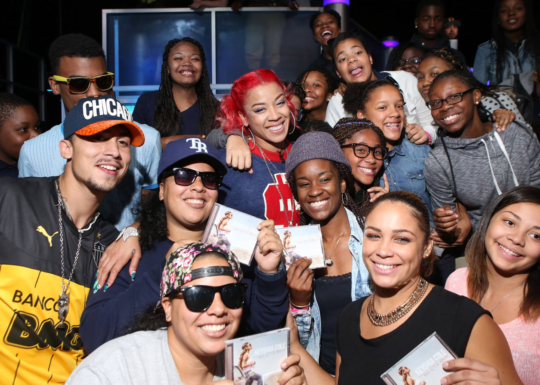 Keyshia and Her Fans - (Photo: Bennett Raglin/BET/Getty Images)